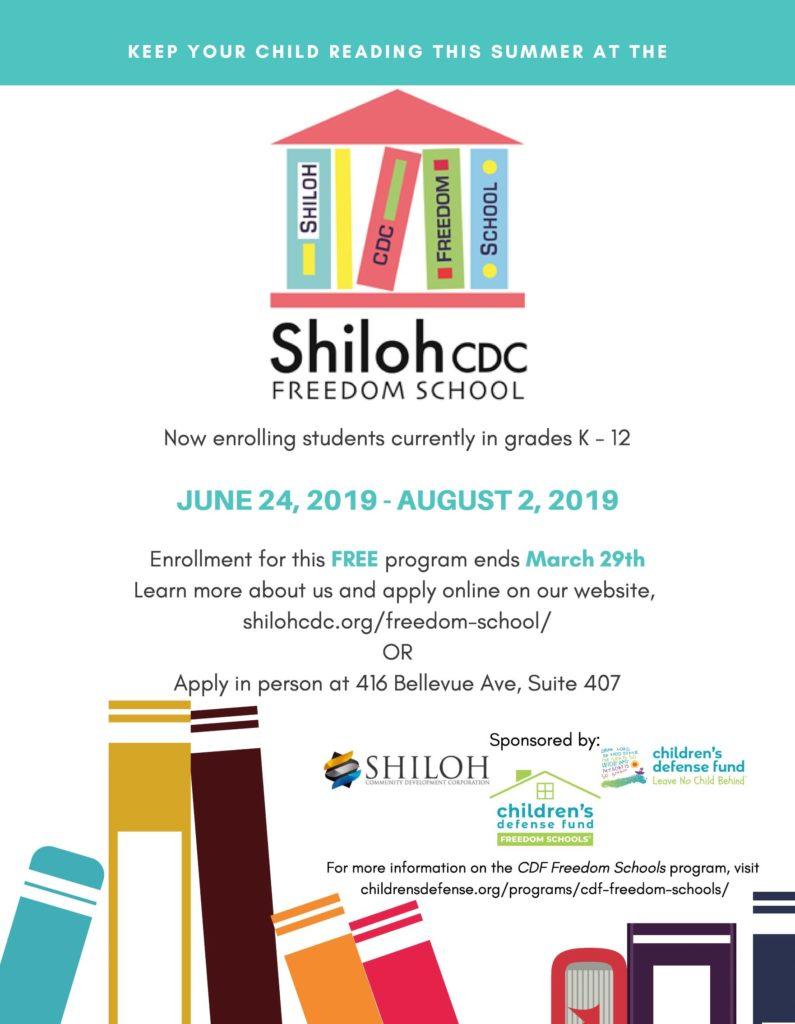 Shiloh CDC Freedom School – Shiloh CDC